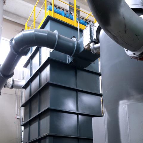 TZT_Centrale-Cogenerazione-a-Biomassa_V.E.S.A.._Dettaglio-Ciclone-Fumi